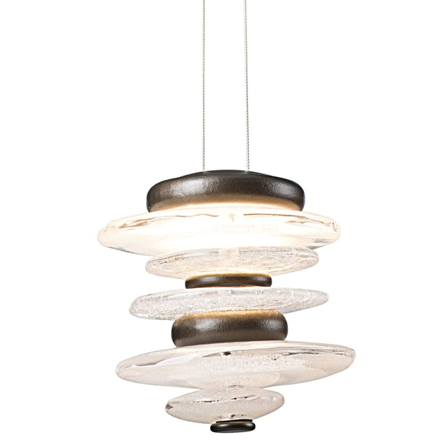 Cairn Mini Pendant  by Hubbardton Forge