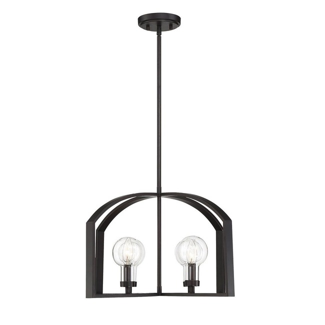 Brockton Outdoor Chandelier  by Savoy House