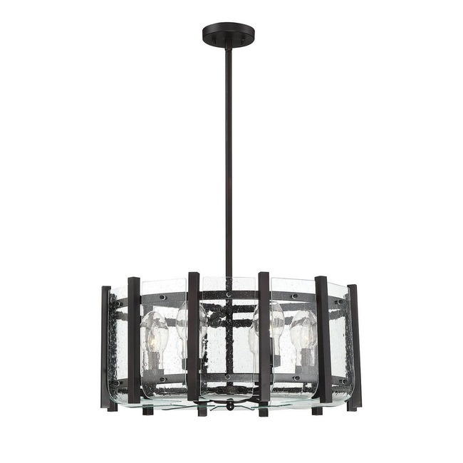 Racine Outdoor Chandelier  by Savoy House