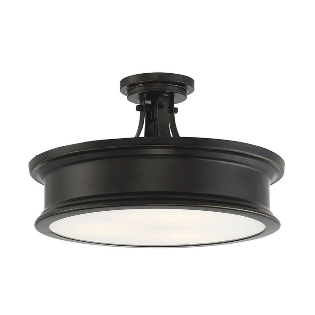 Watkins Semi Flush Ceiling Light  by Savoy House