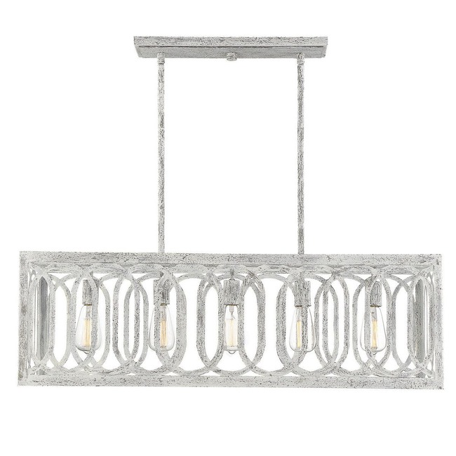 Westbrook Oval Motif Linear Chandelier  by Savoy House