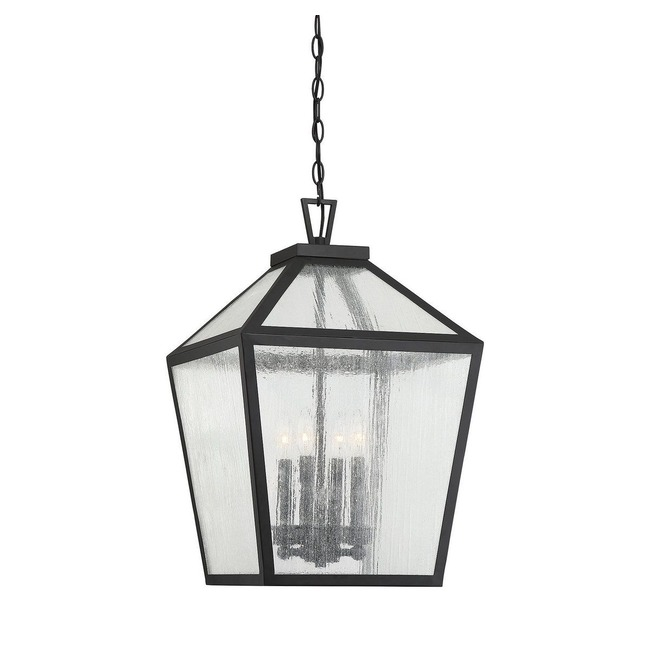 Woodstock Outdoor Pendant  by Savoy House