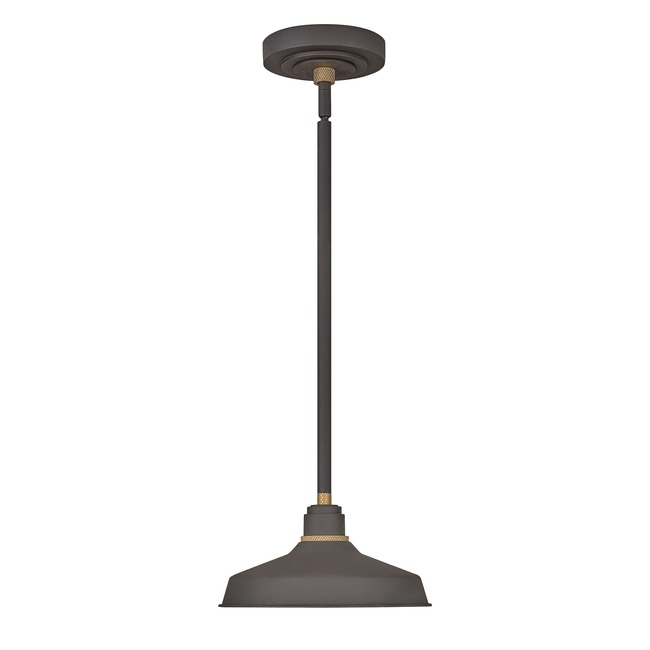 Foundry Outdoor Industrial Shade Pendant  by Hinkley Lighting