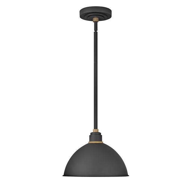 Foundry Outdoor Dome Shade Pendant  by Hinkley Lighting