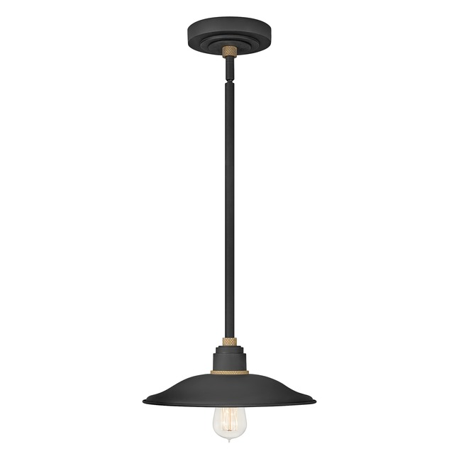Foundry Outdoor Flared Shade Pendant  by Hinkley Lighting