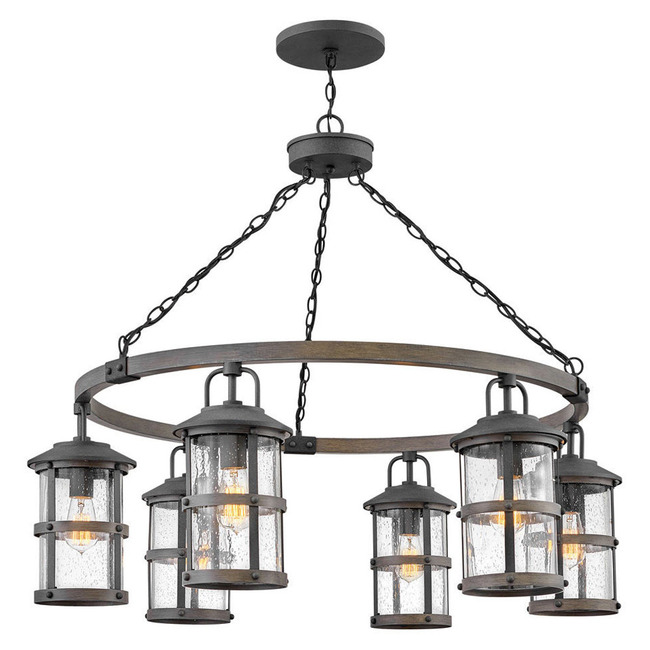 Lakehouse Outdoor Chandelier  by Hinkley Lighting