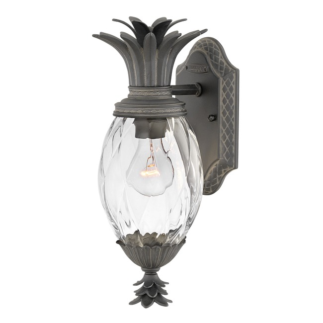 Plantation Outdoor Wall Light Museum Black  by Hinkley Lighting