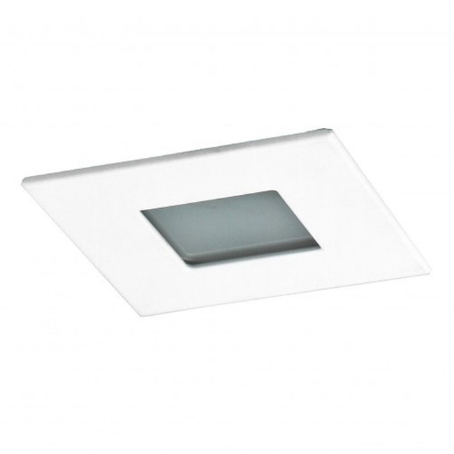 R3-559 3 Inch Square Lensed Shower Trim by Beach Lighting | R3-559MW