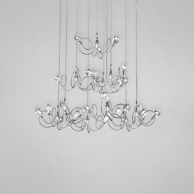 Volare 10 Light Round Chandelier by Eurofase | 25681-024