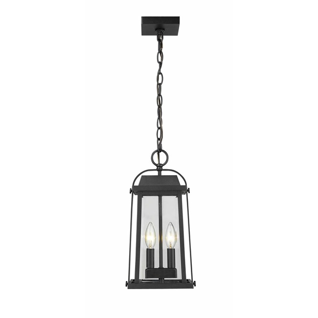 Millworks Outdoor Pendant  by Z-Lite