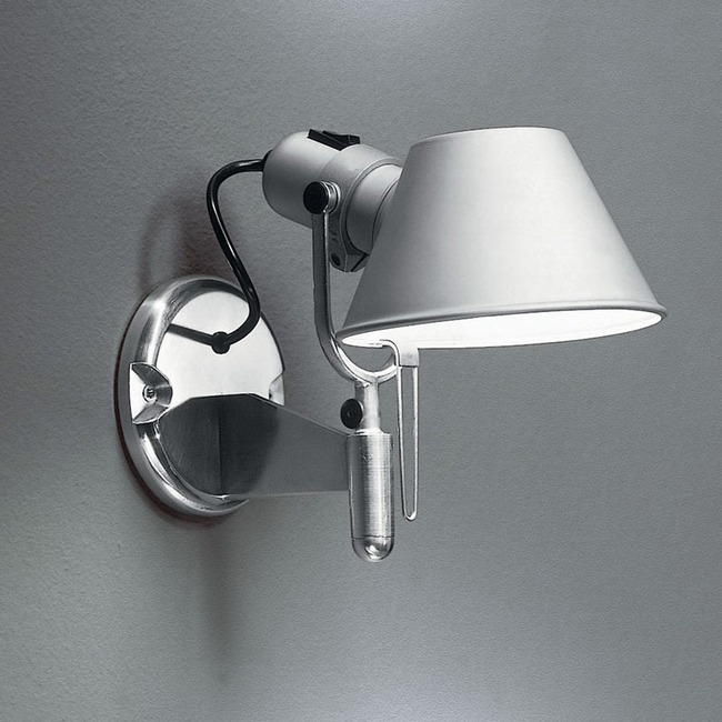 Tolomeo Classic LED Wall Spot with Switch  by Artemide