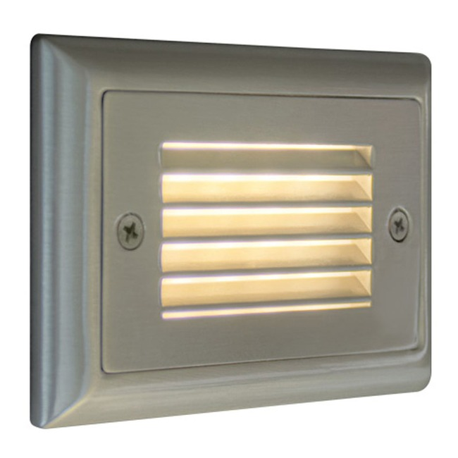 Horizontal Louver Step Light  by Bruck