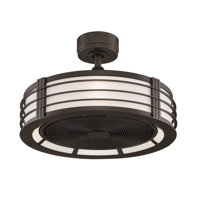 Beckwith Ceiling Fan with Light  by Fanimation