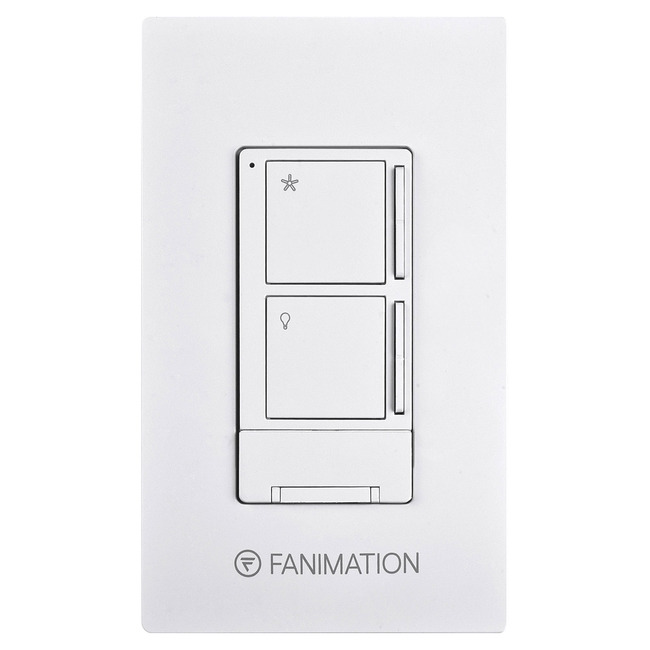 WR501 Fan / Light Wall Control with Canopy Mount Receiver  by Fanimation