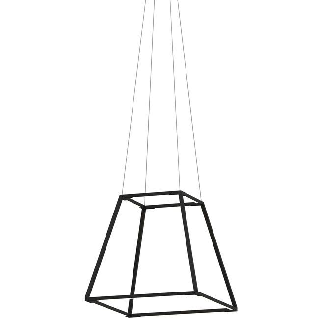 Z-Bar Rise Square Pendant  by Koncept Lighting