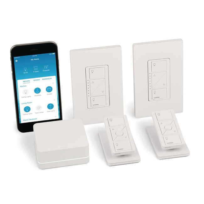Caseta Wireless In-Wall Dimmer Switch (2-Count) Starter Kit  by Lutron