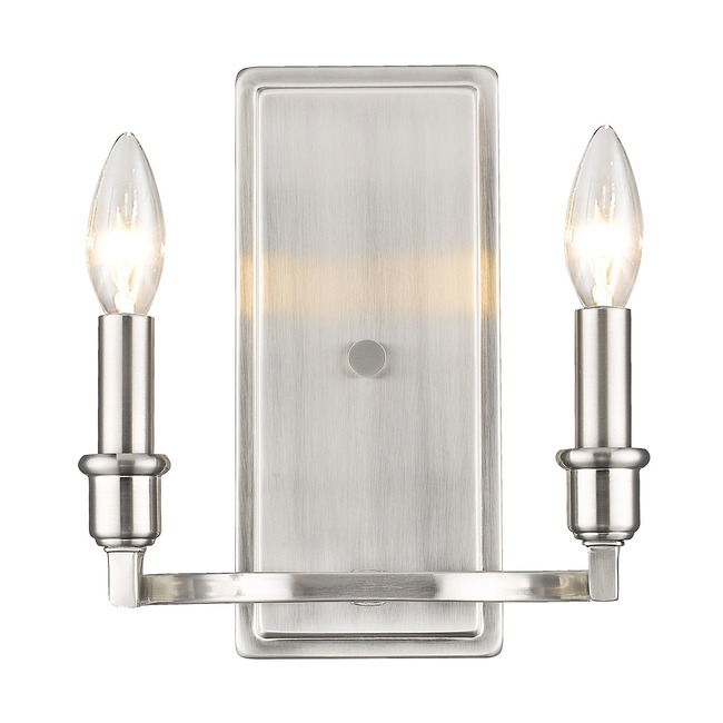 Ellyn 2 Wall Light  by Golden Lighting