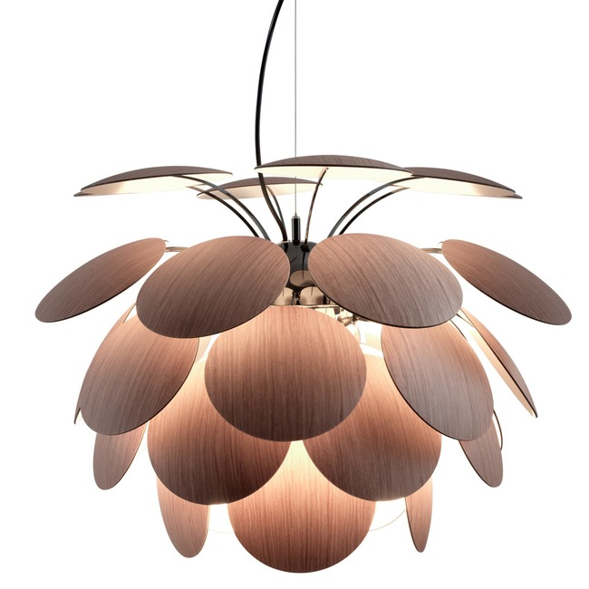Discoco Wood Pendant  by Marset