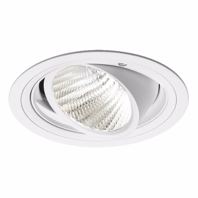 Ardito 3.5IN RD Flanged Warm Dim Adjustable Trim  by Contrast Lighting