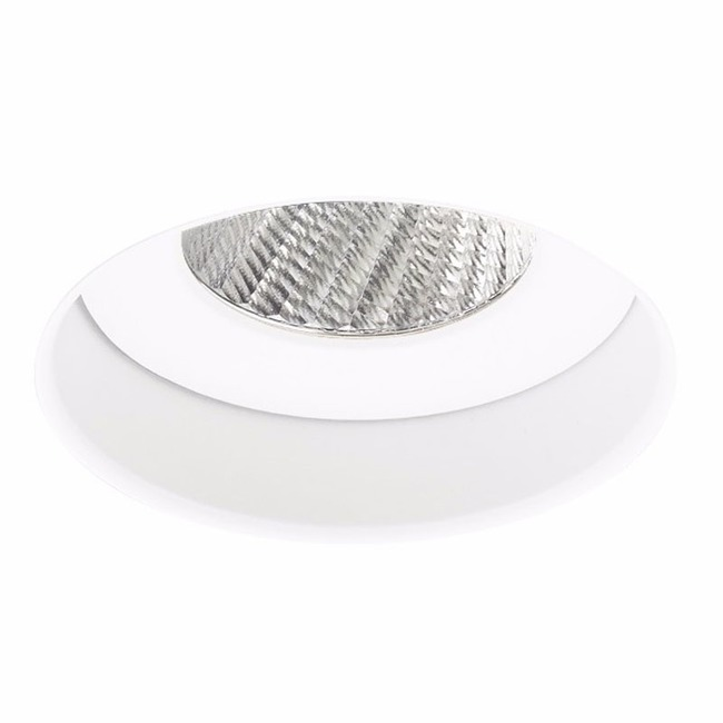 Ardito 3.5IN RD Flangeless Warm Dim Regress Downlight Trim  by Contrast Lighting