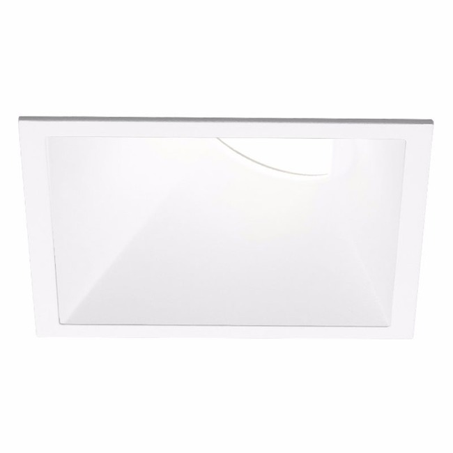 Ardito 3.5IN SQ Flanged Warm Dim Wall Wash Trim  by Contrast Lighting