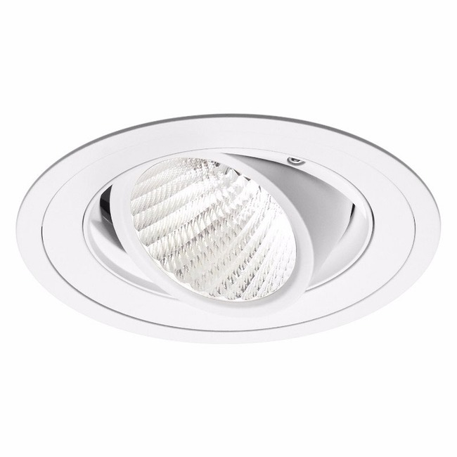 Ardito 4IN RD Flanged Warm Dim Adjustable Trim  by Contrast Lighting