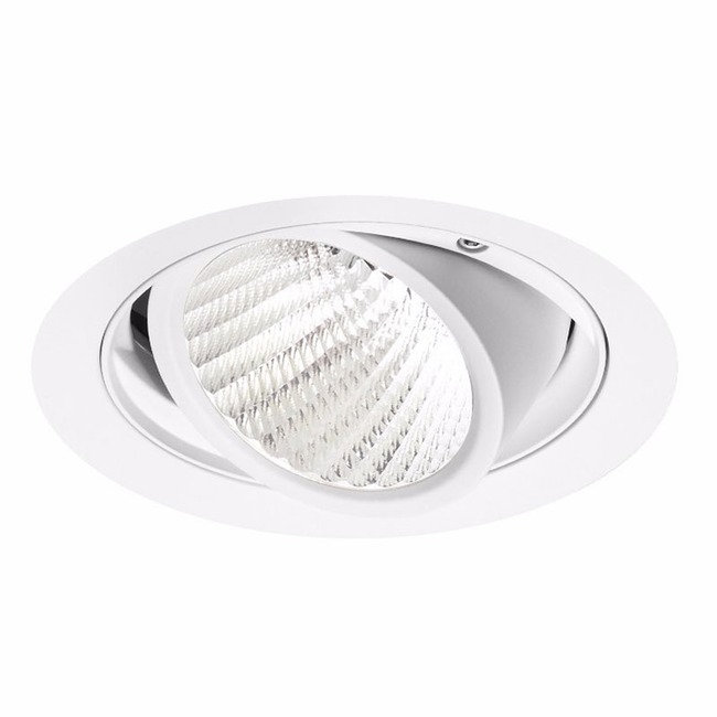 Ardito 4IN RD Flangeless Warm Dim Adjustable Trim  by Contrast Lighting
