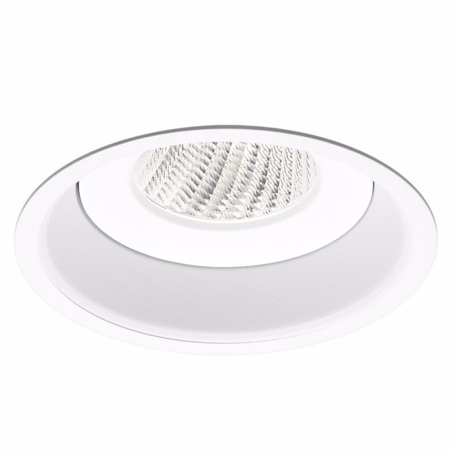 Ardito 4IN RD Flanged Warm Dim Regress Downlight Trim  by Contrast Lighting