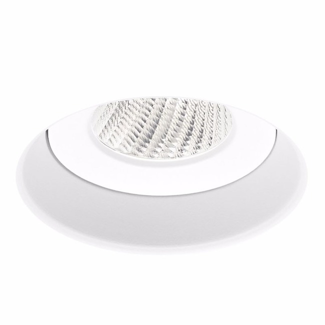Ardito 4IN RD Flangeless Warm Dim Regress Downlight Trim  by Contrast Lighting
