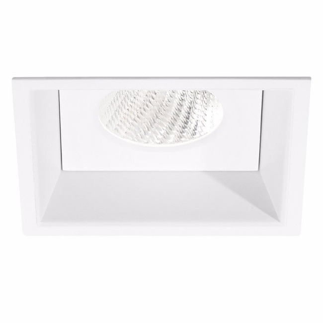 Ardito 4IN SQ Flanged Color Tune Regress Downlight Trim  by Contrast Lighting