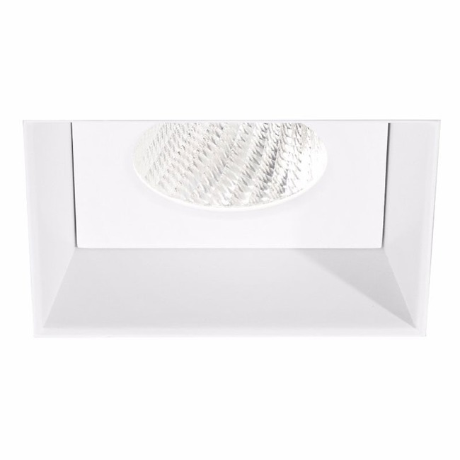 Ardito 4IN SQ Flangeless Regress Downlight Trim  by Contrast Lighting