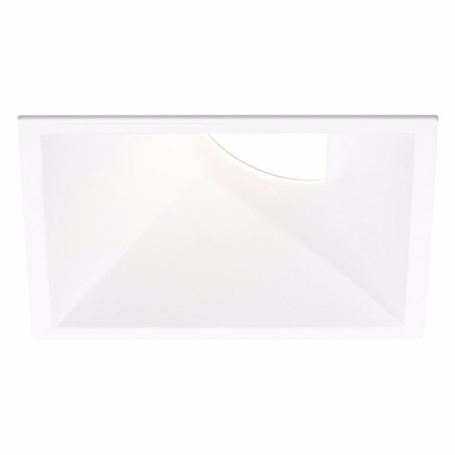 Ardito 4IN SQ Flanged Wall Wash Trim  by Contrast Lighting