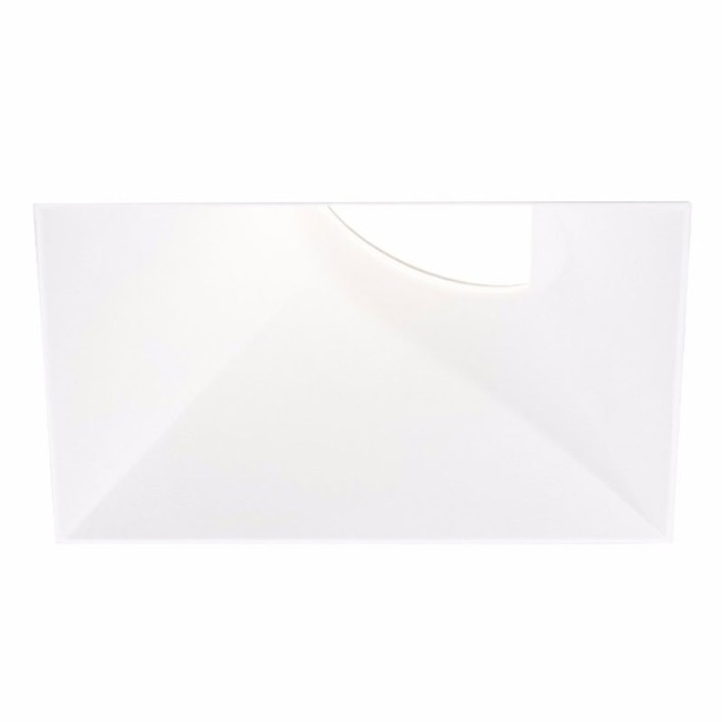 Ardito 4IN SQ Flangeless Warm Dim Wall Wash Trim  by Contrast Lighting