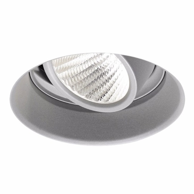 Ardito 4IN RD Flangeless Adjustable Regress Trim  by Contrast Lighting