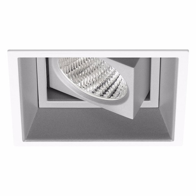 Ardito 4IN SQ Flanged Adjustable Regress Trim  by Contrast Lighting