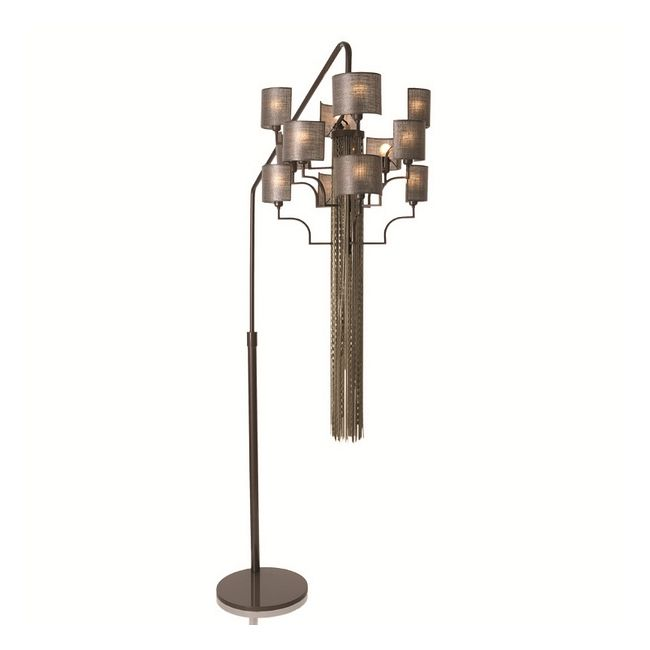 12 Light Hanging Floor Lamp by Lightology Collection | LC-EC13-M20-T12-GC