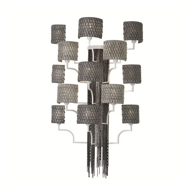 13 Light Wall Sconce by Lightology Collection | LC-EC08-M23-T26-BN