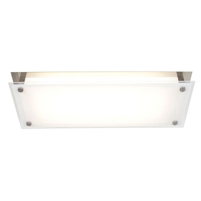 Vision 1-Light Ceiling or Wall Mount by Access | 31027-BS/FST
