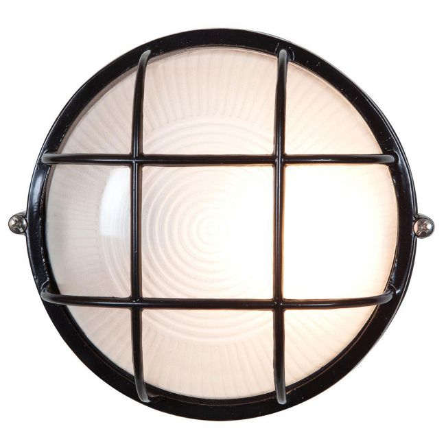 Nauticus Round Outdoor Bulkhead Wall / Ceiling Light by Access | C20294BLFSTEN1113BS