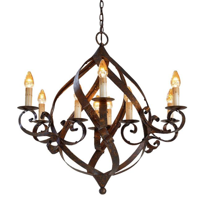 Gramercy Chandelier by Currey and Company | 9528-CC