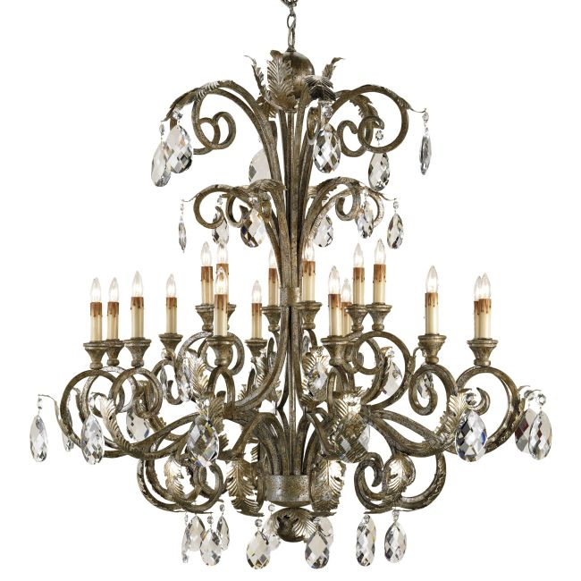 Promenade Chandelier by Currey and Company | 9632-CC