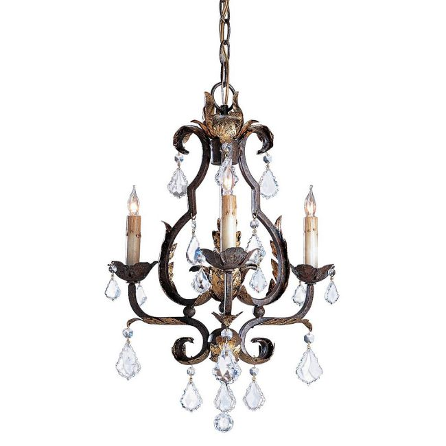Tuscan Chandelier by Currey and Company   9829-CC