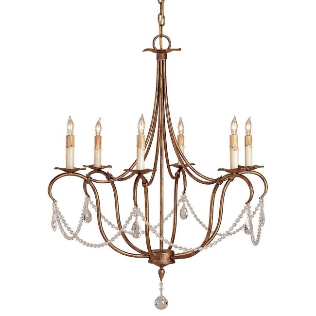 Crystal Lights Chandelier by Currey and Company | 9880-CC