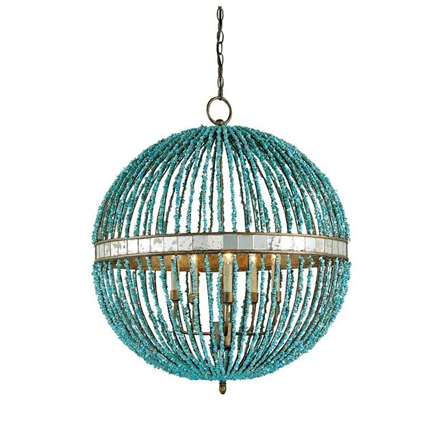 Alberto Orb Chandelier by Currey and Company | 9763-CC