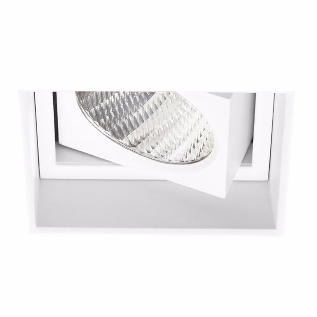 Ardito 3.5IN SQ Flangeless Adjustable Regress Trim  by Contrast Lighting