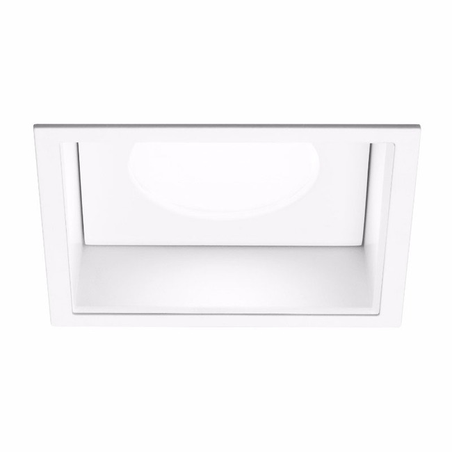 Ardito 3.5IN SQ Flanged Regress Shower Trim  by Contrast Lighting