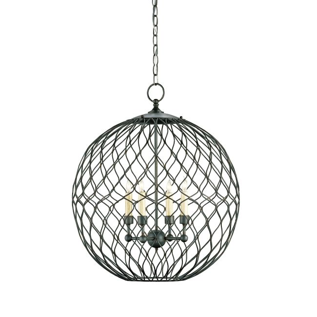Simpatico Orb Pendant by Currey and Company | 9618-CC