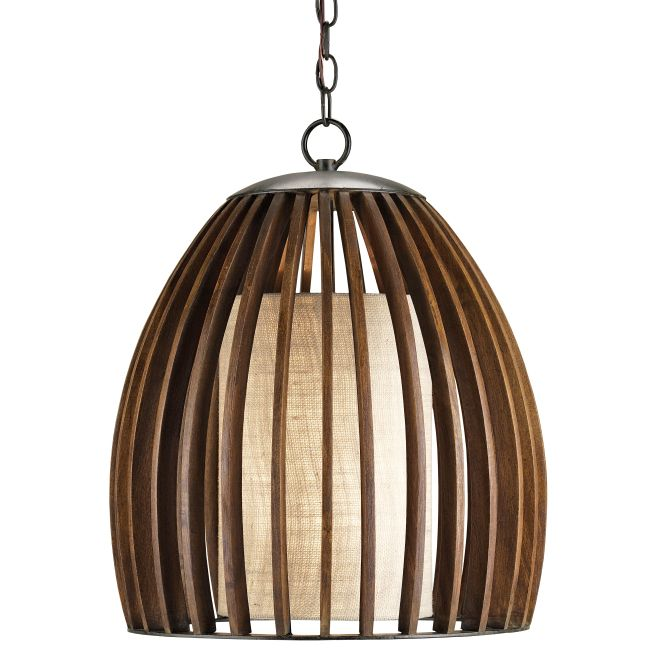 Carling Pendant by Currey and Company   9099-CC