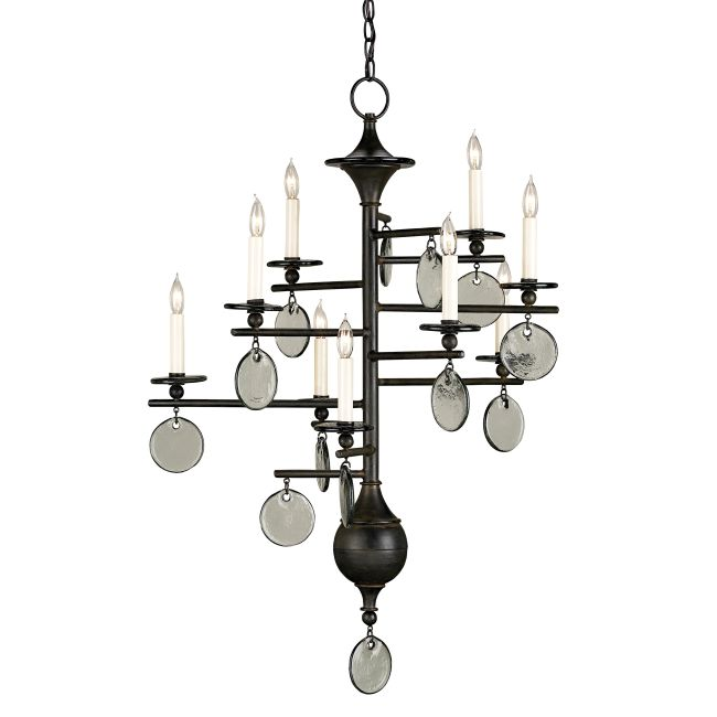 Sethos Small Chandelier by Currey and Company | 9126-CC