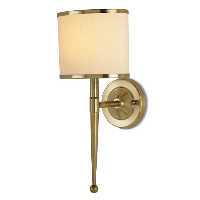 Primo Gold Wall Light by Currey and Company | 5121-CC